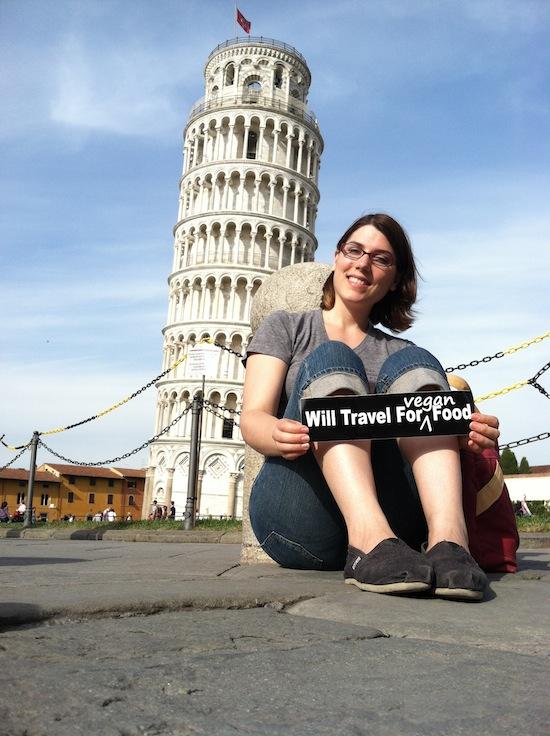 Kristin Lajeunesse Pisa Italy