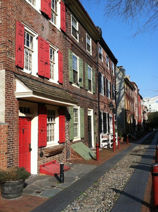 Elfreth's Alley PA