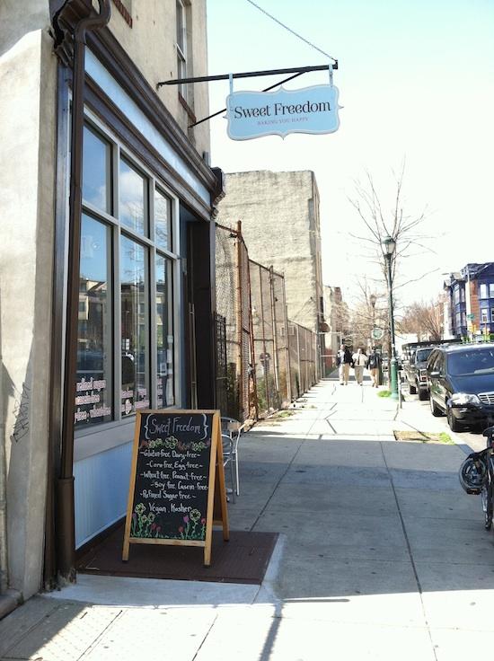 Sweet Freedom Vegan Bakery, Philadelphia PA