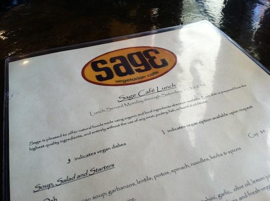 Sage Vegetarain Cafe