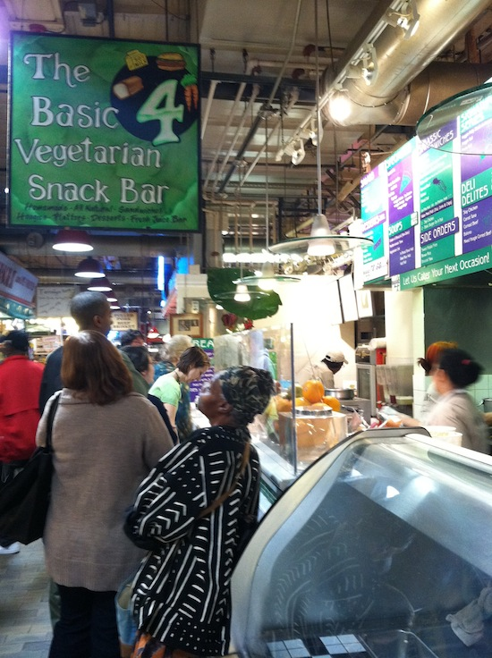 Basic 4 Vegetarian Snack Bar, Philly