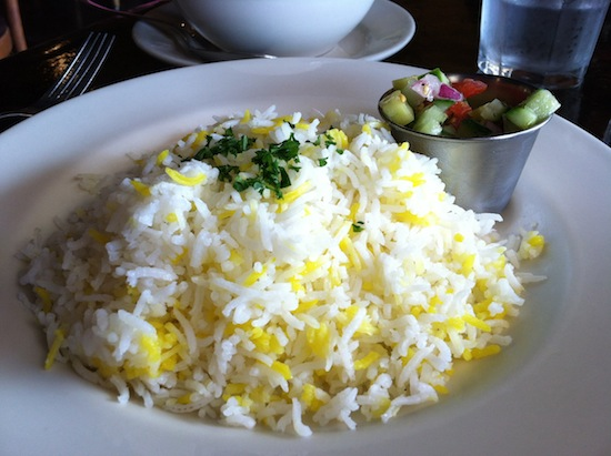 Basmati Rice - Sage Vegetarian Cafe, Chapel Hill, NC