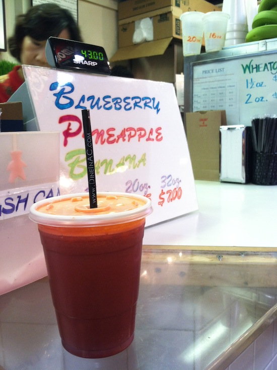 Fresh Juice, Terminal Reading Market