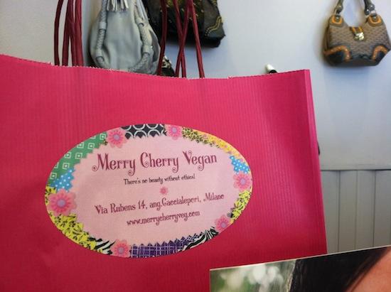 Merry Cherry Vegan shoe store - Milan, Italy