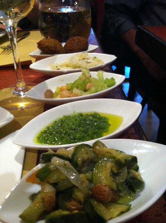 Gam Gam vegan food in Venice, Italy