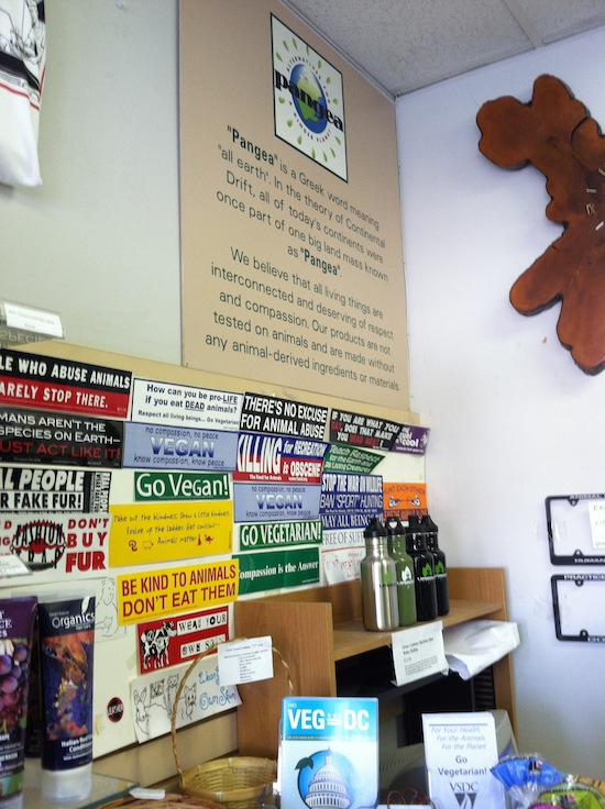 Pangea vegan store, Maryland
