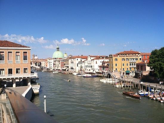 Vegans in Venice, Italy
