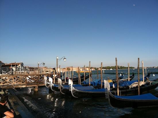 Venice, Italy gondolas