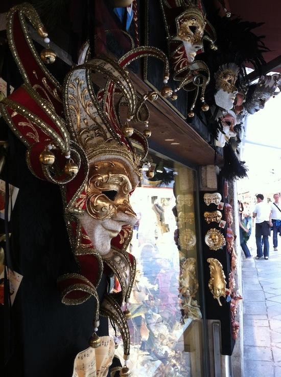 Venice, Italy masks