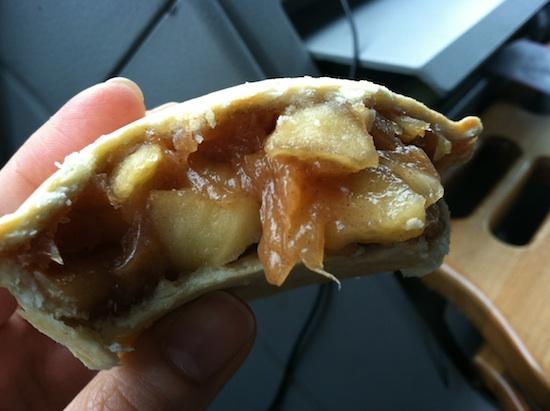 Vegan apple pie tartlets at I Heart Veg in Asheville, NC