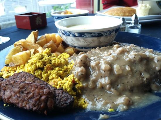 Breakfast bowl at Path Pagoda - vegan restaurant in Norfolk, VA