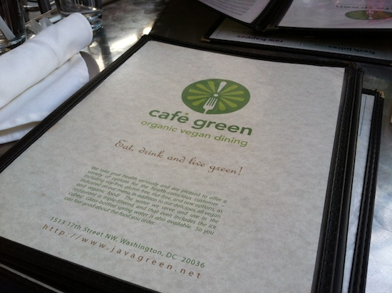 Cafe Green - Washington DC