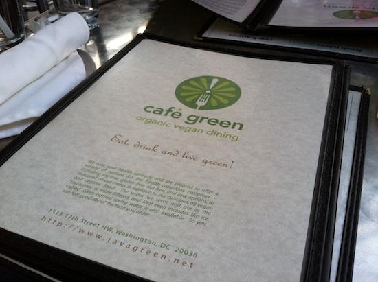 Cafe Green - Washington DC