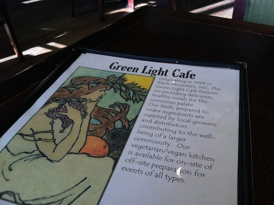 Green Light Cafe in Asheville, NC