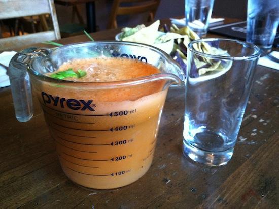 Liquid Earth fresh juice, vegan restaurant