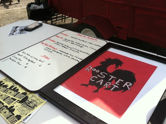Rooster Food Cart in Richmond, VA