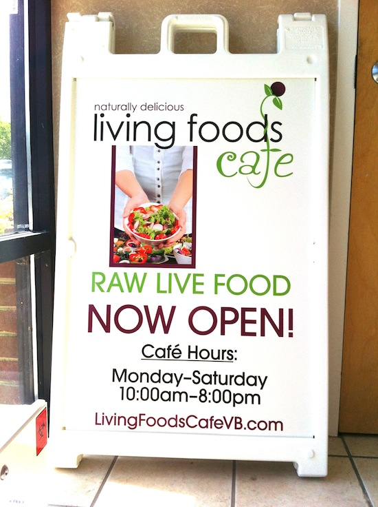 Living Foods Cafe - Virginia Beach, VA