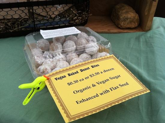 Vegan doughnut bites I Heart Veg - Cake & Eats in Asheville, NC