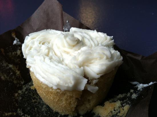 Vegan cupcake at Fresca on Addison - Richmond, VA