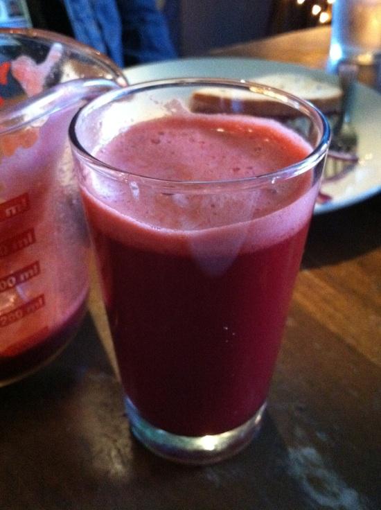 Liquid Earth - fresh juice