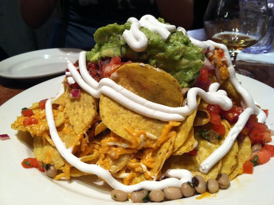 Loaded nachos at Busboys and Poets in DC