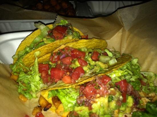 Vegan tacos in Asheville, NC