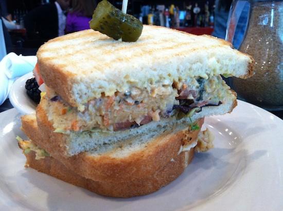 Vegan Tuna Sandwich at Busboys & Poets in DC