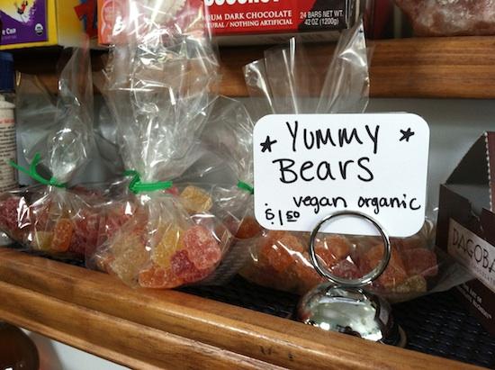Vegan Yummy Bears at Fresca on Addison - Richmond, VA