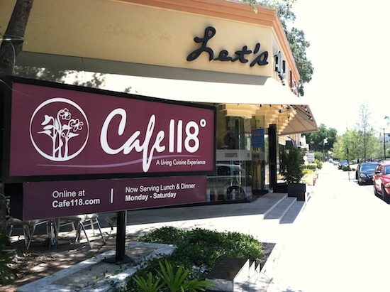 Cafe 118 Degrees - Winter Park, FL
