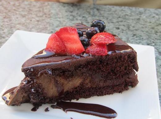 Darbster vegan chocolate mousse ganache cake - West Palm Beach, FL