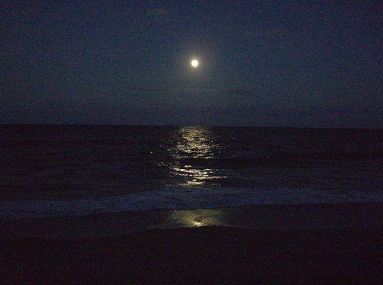 Juno Beach at night - Florida