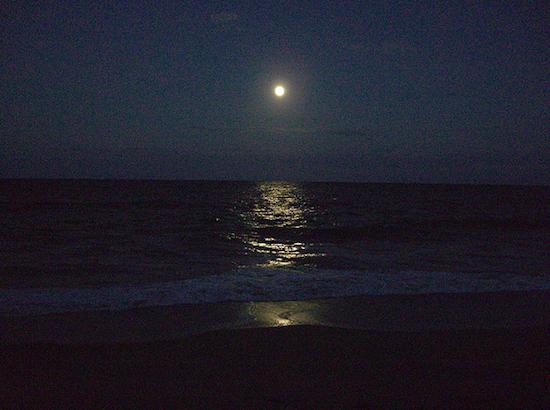 Juno Beach at night - Florida