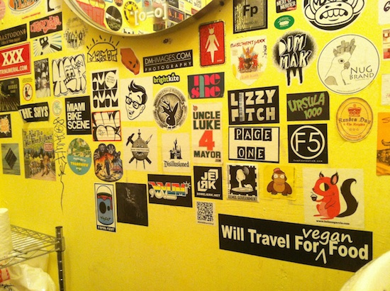 Sweat Records Bathroom - Miami, FL