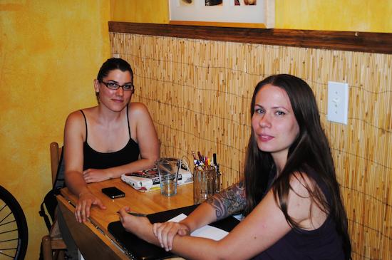 Kristin and Jennifer in Miami, FL