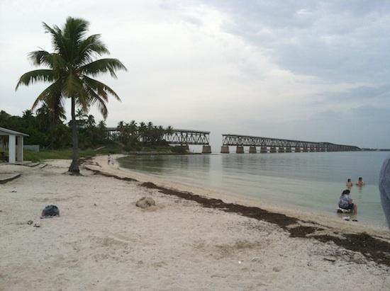 Beach in Marathon, FL