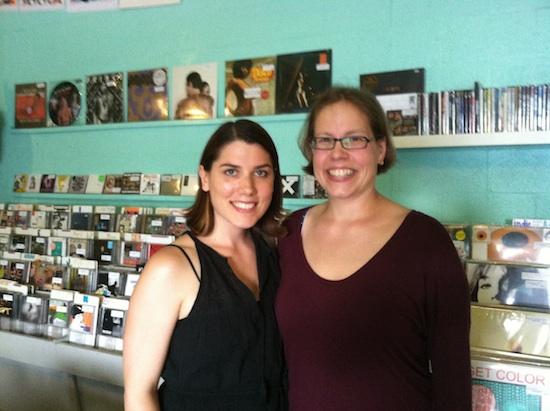 Kristin & Loren at Sweat Records - Miami, FL