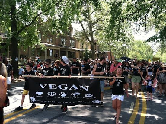 Columbus, OH Doo Dah Parade - 300 Vegans 4 Independence Day