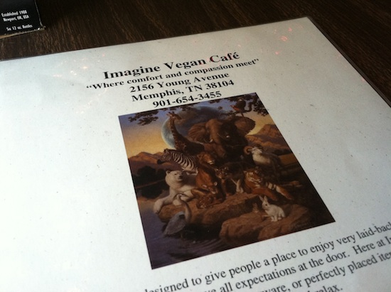 Imagine Vegan Cafe - Memphis, TN