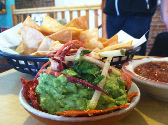 Housemade tortilla chips & gauc - Pepe's Bistro in Lincoln, NE