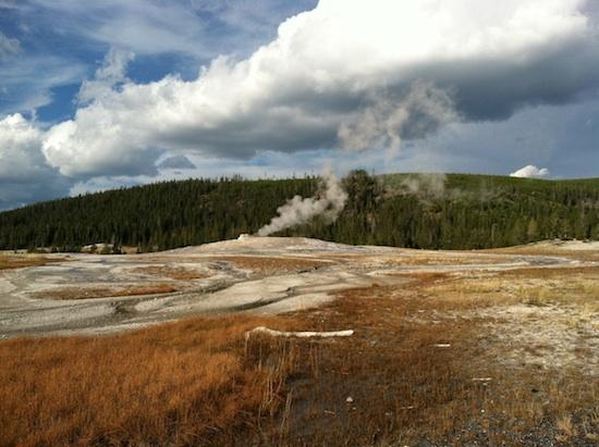 Old Faithful Geyser - Yellowstone National Park