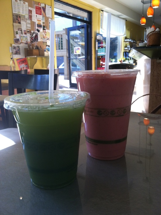 Juice & smoothie - Glow Live Food in Ketchum, ID