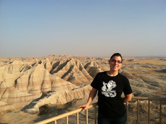 Kristin + Badlands National Park in Interior, SD