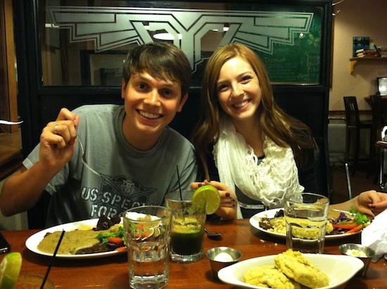 Tanner & Mara at McFoster's in Omaha, NE