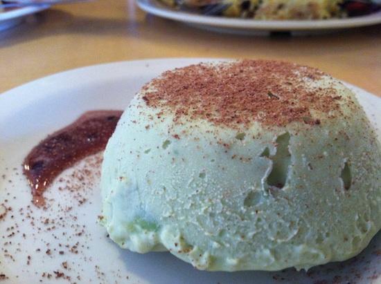 Avocado cheesecake - Pepe's Bistro in Lincoln, NE
