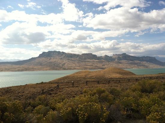 Beautiful Wyoming drive