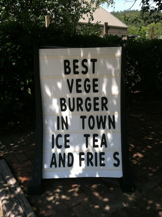 best veggie burger in town