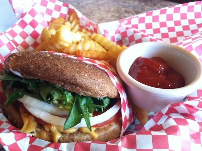 vegan garden burger