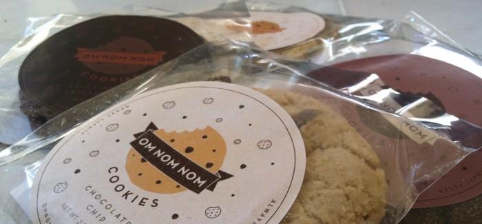 Om Nom Nom Cookies