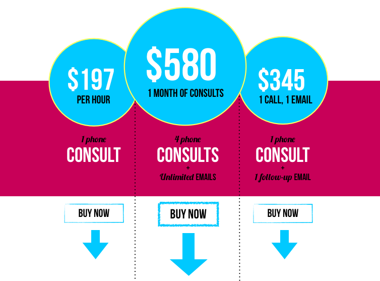 work with me pricing