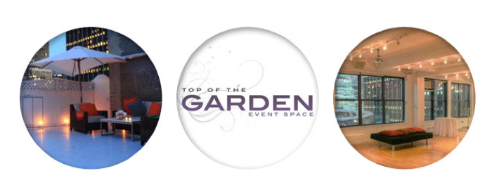 PARTY UPDATE: Introducing Top of The Garden Event Space